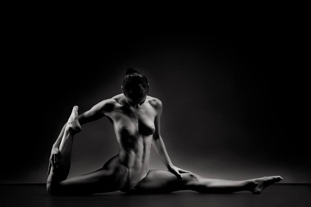 nude, akt, fine art, studio, model